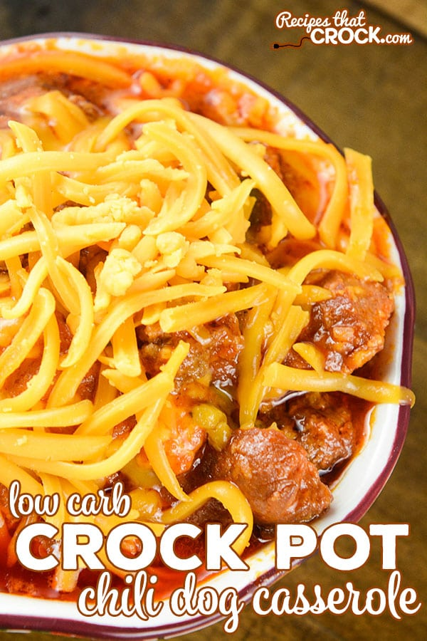 Do you love chili dogs? Our Crock Pot Chili Dog Casserole is a delicious alternative to your favorite fast food option AND it is low carb!