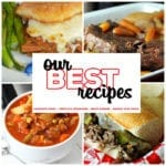 This collection of 8 Great Roast Recipes includes The Perfect Pot Roast,Crock Pot French Dip Au Jus,Vegetable Beef Soup and so much more! These easy recipes are great for cold winter nights!