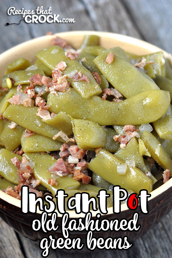 Do you want fresh green beans cooked to perfection in seven minutes? Then you don't want to miss this How to Cook Fresh Green Beans in an Instant Pot recipe! Yum!