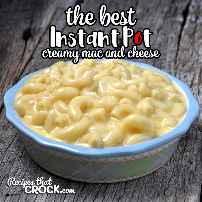 If you are looking for the best, this is The Best Instant Pot Creamy Mac and Cheese recipe. It is easy, cheesy and loved by everyone!