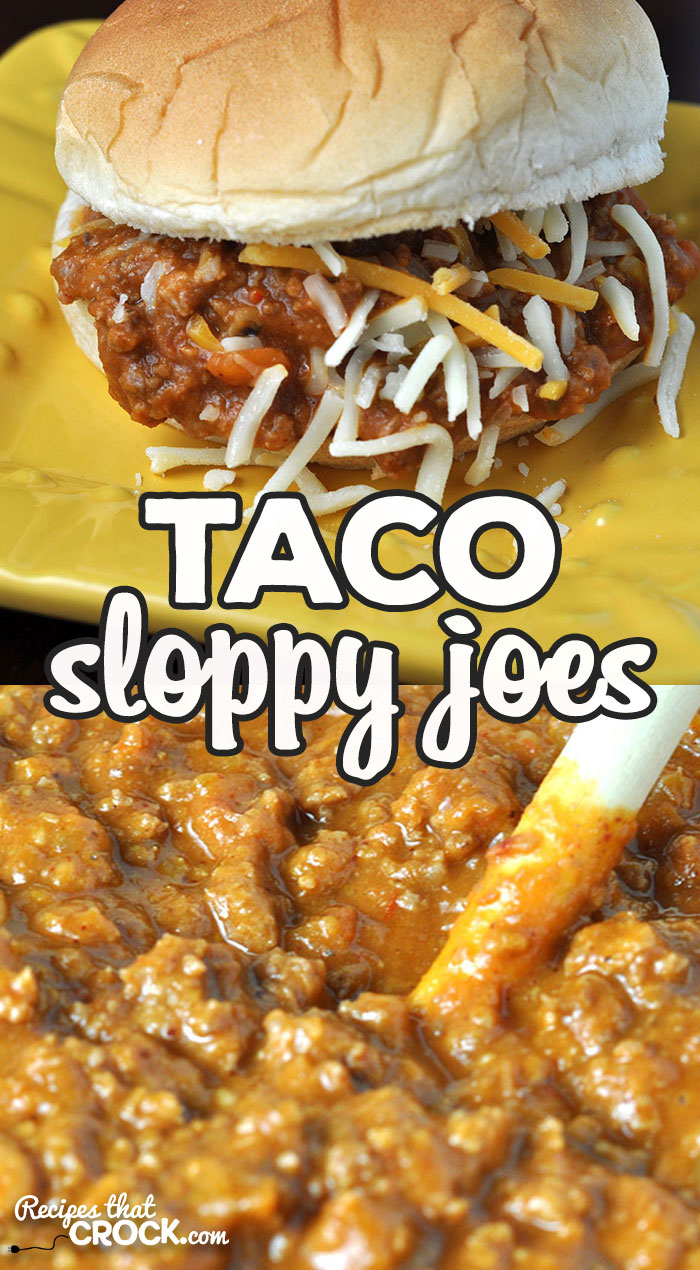 These Taco Sloppy Joes are easy to make, delicious and versatile! Whether you want a delicious sandwich, nachos or taco salad, this recipe is perfect! via @recipescrock