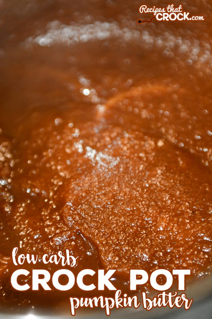 Do you love pumpkin butter but need a sugar free alternative? Our Low Carb Crock Pot Pumpkin Butter has the same old fashioned taste with a fraction of the carbs.