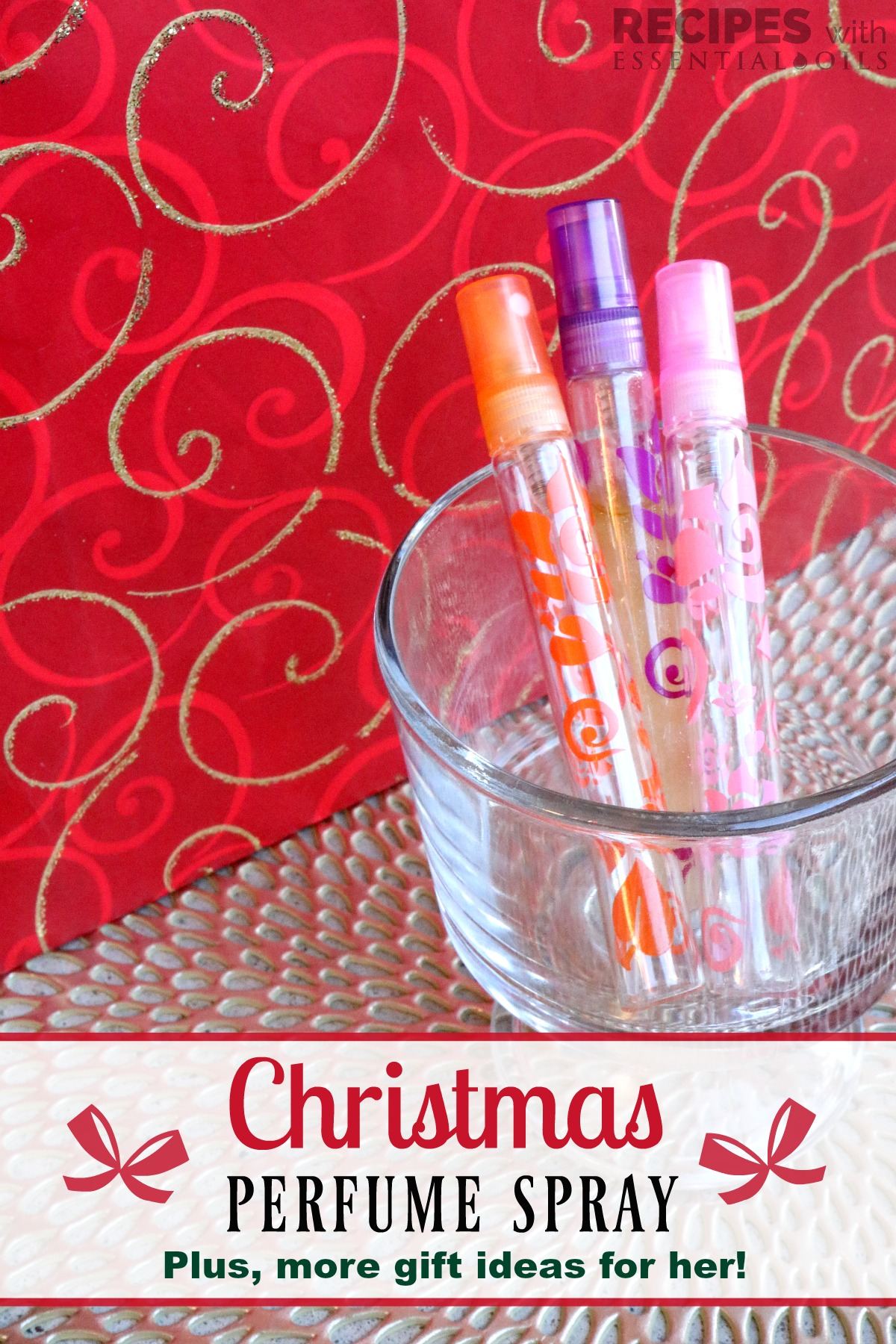 Essential Oil Gifts For Her Christmas Perfume Spray