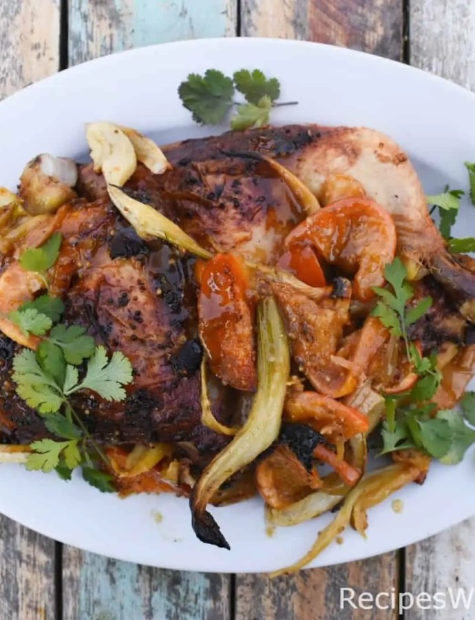 Roasted Chicken with Olive Oil and Citrus
