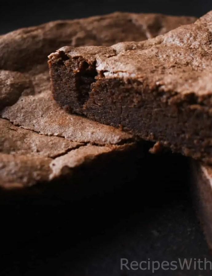 Easy Olive Oil Fudge Brownies