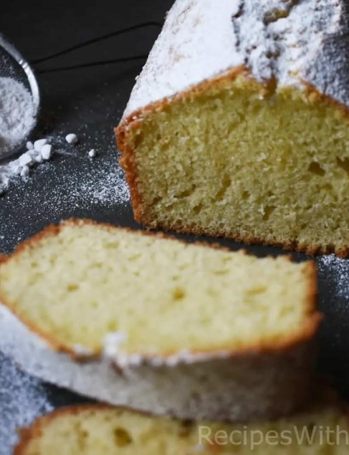 Super Moist Olive Oil Cake With Yogurt