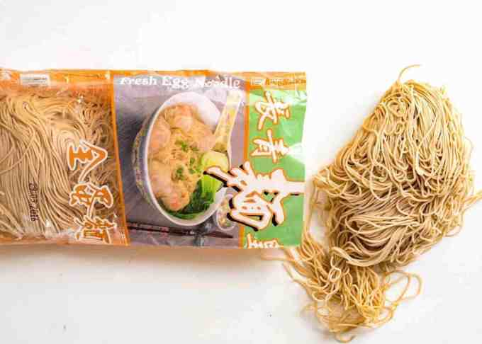 Noodles for Chinese Noodle Soup