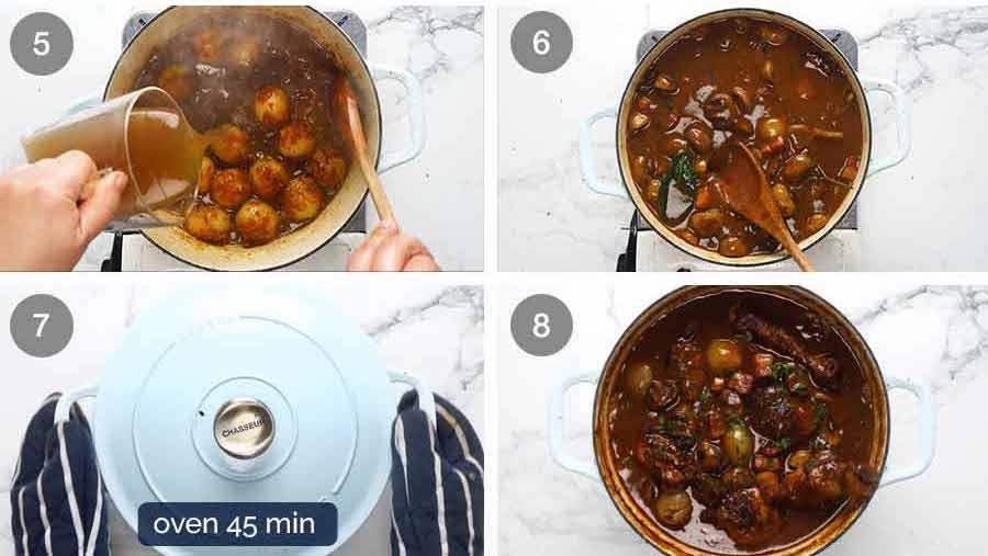 How to make Coq au Vin - French chicken stew