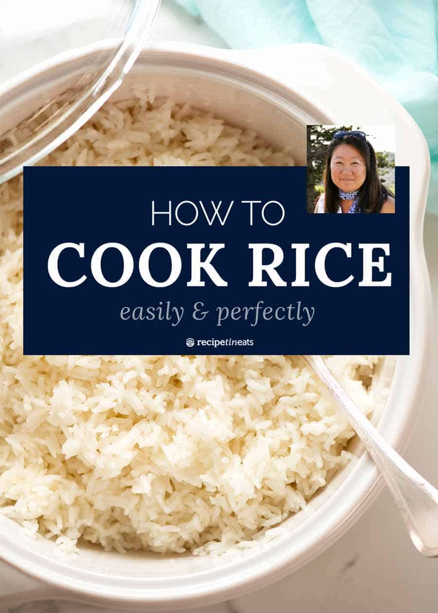 how to cook white rice easily and