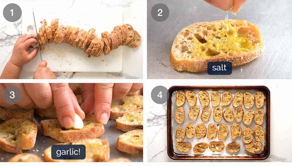 How to make crostini