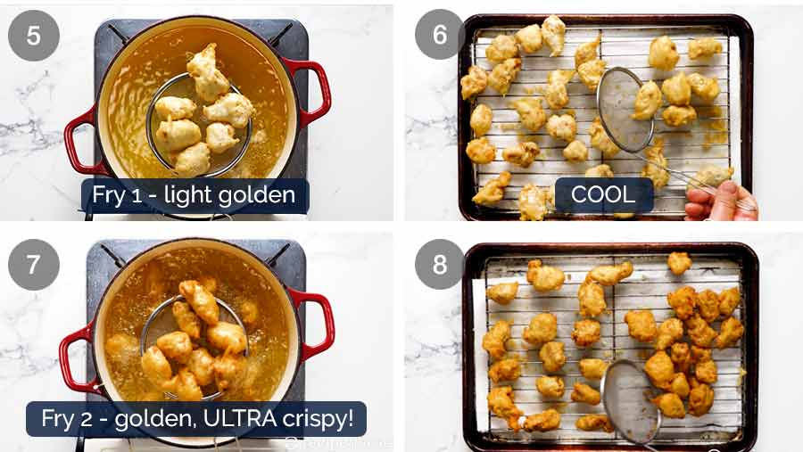 How to make Honey Chicken that stays crispy for hours