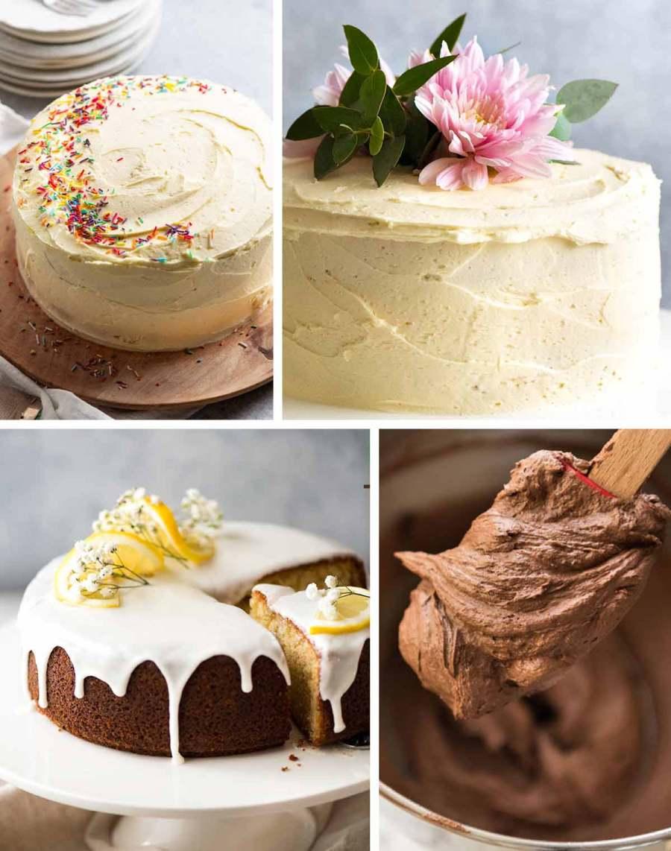 Vanilla cake decorating ideas