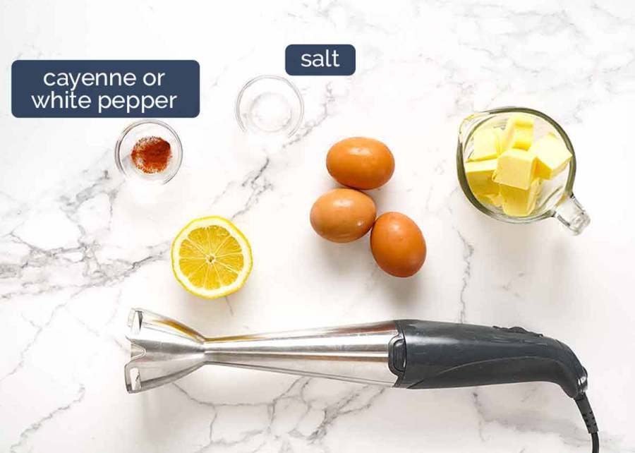 Ingredients in Hollandaise Sauce