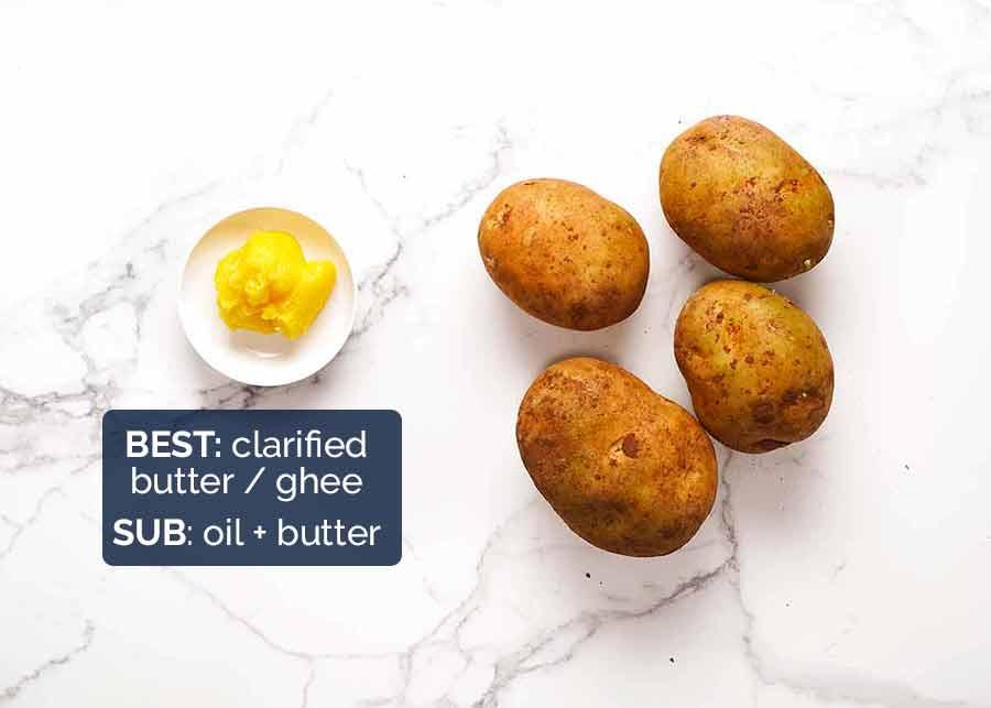 Ingredients in Potato Rosti