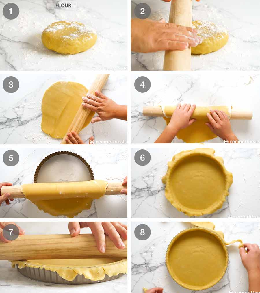 How to make Sweet Tart Crust (Sweet Pastry) - French Pate Sucree