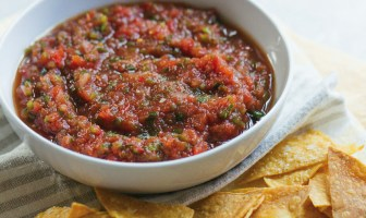 Roasted Poblano Salsa