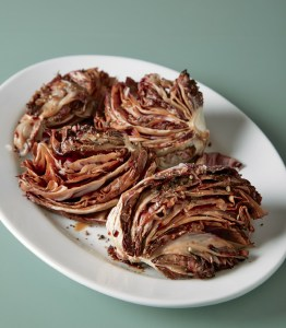 Grilled or Broiled Radicchio with Balsamic Glaze