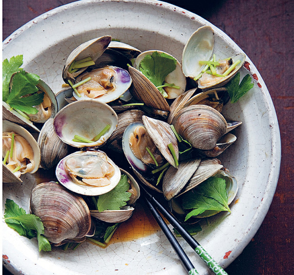 Littleneck Clams with Soy Sauce