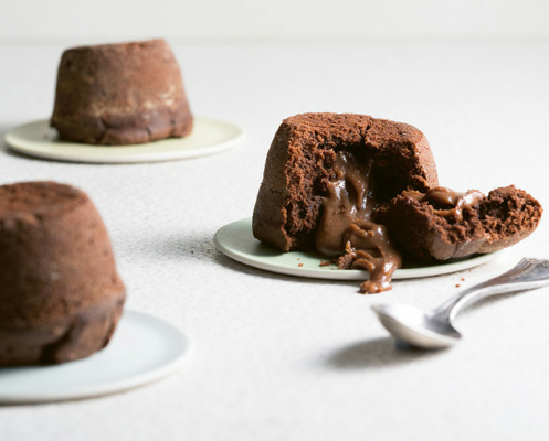 Chocolate Melt-in-the-middle Puddings