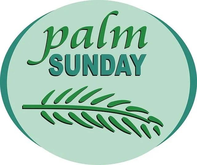 coronavirus palm sunday
