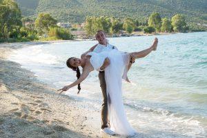Svatba v Řecku - splněný sen...