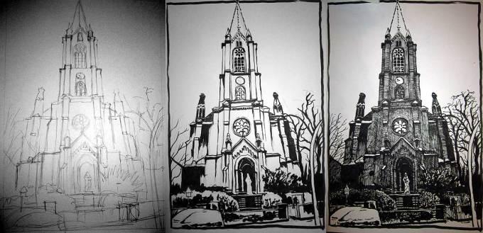 Vom Entwurf zur Zeichnung