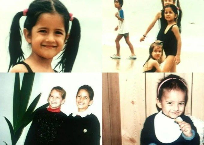 Katrina Kaif childhood photos, Bollywood Celebs, Childhood Stars, Unseen childhood pictures, Rare Pics Of Bollywood Celebrities