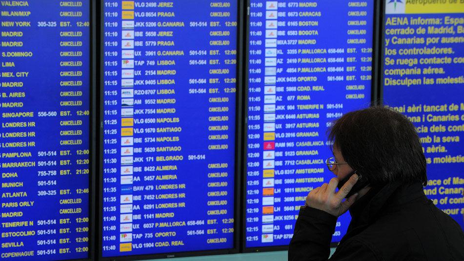 Derechos de los pasajeros de avión ante huelgas
