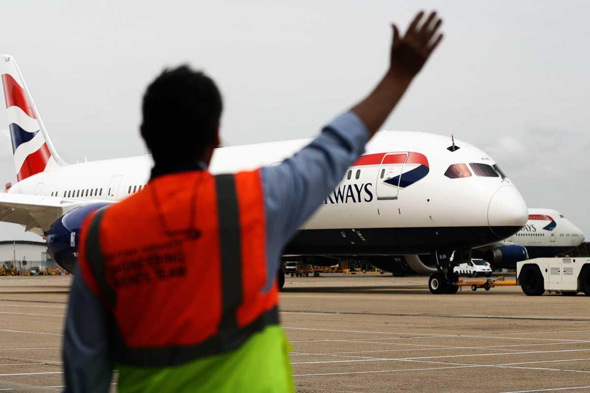avión de british airwais volando. foto de reclamador.es extraida de la web de la compañía