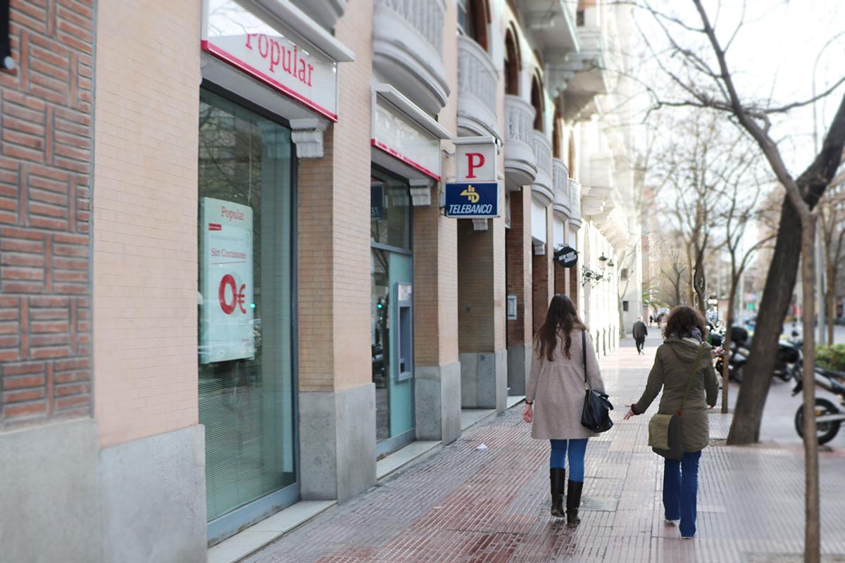 sucursal del banco popular, entidad que ha sido comprada por el Santander. Foto de reclamador.es, plataforma de reclamaciones online.