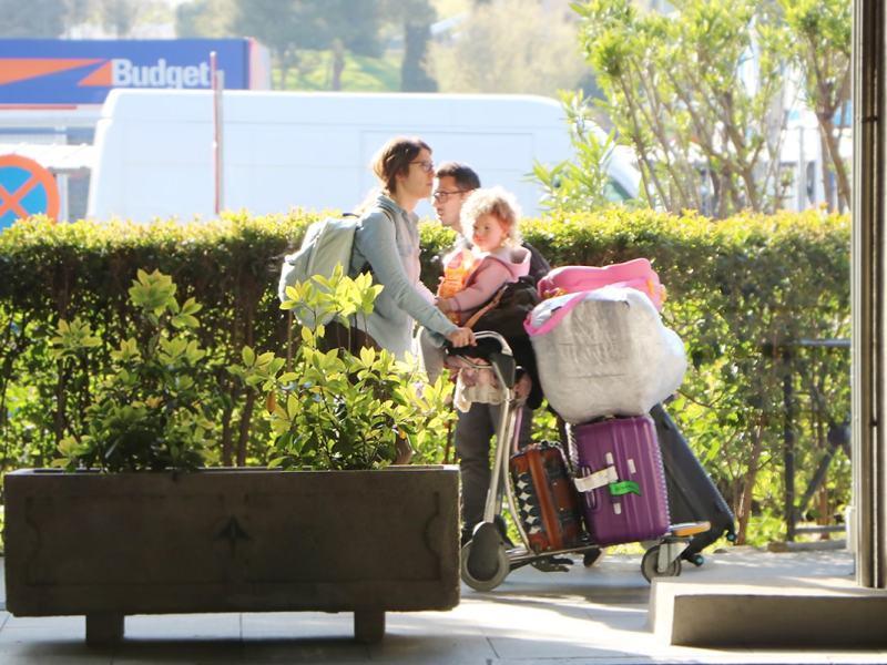 Preparar el equipaje antes de un vuelo