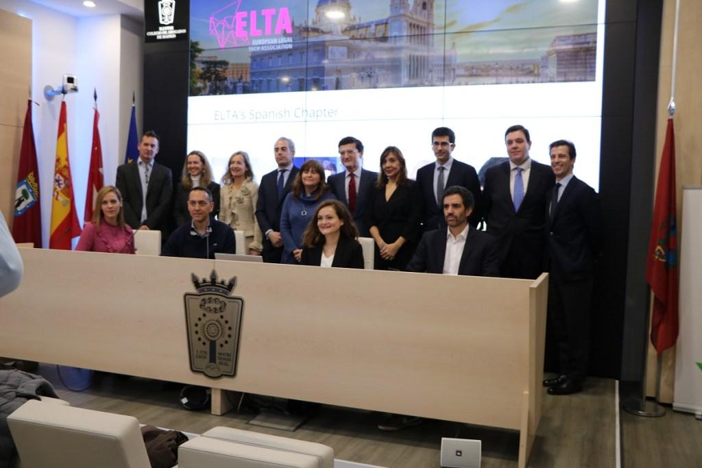Presentación de ELTA en el ICAM con la participación de Pablo Rabanal