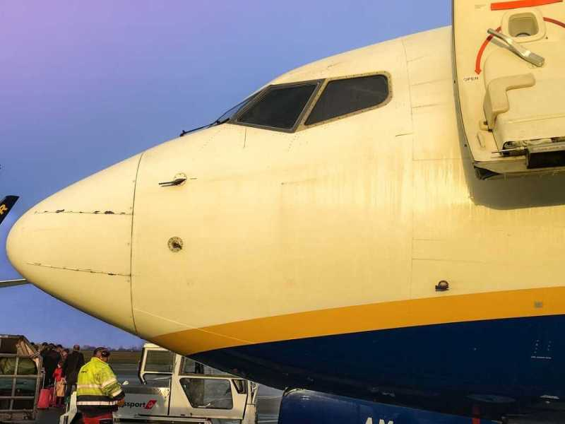 Otra vez, Ryanair: vuelo Praga-Madrid