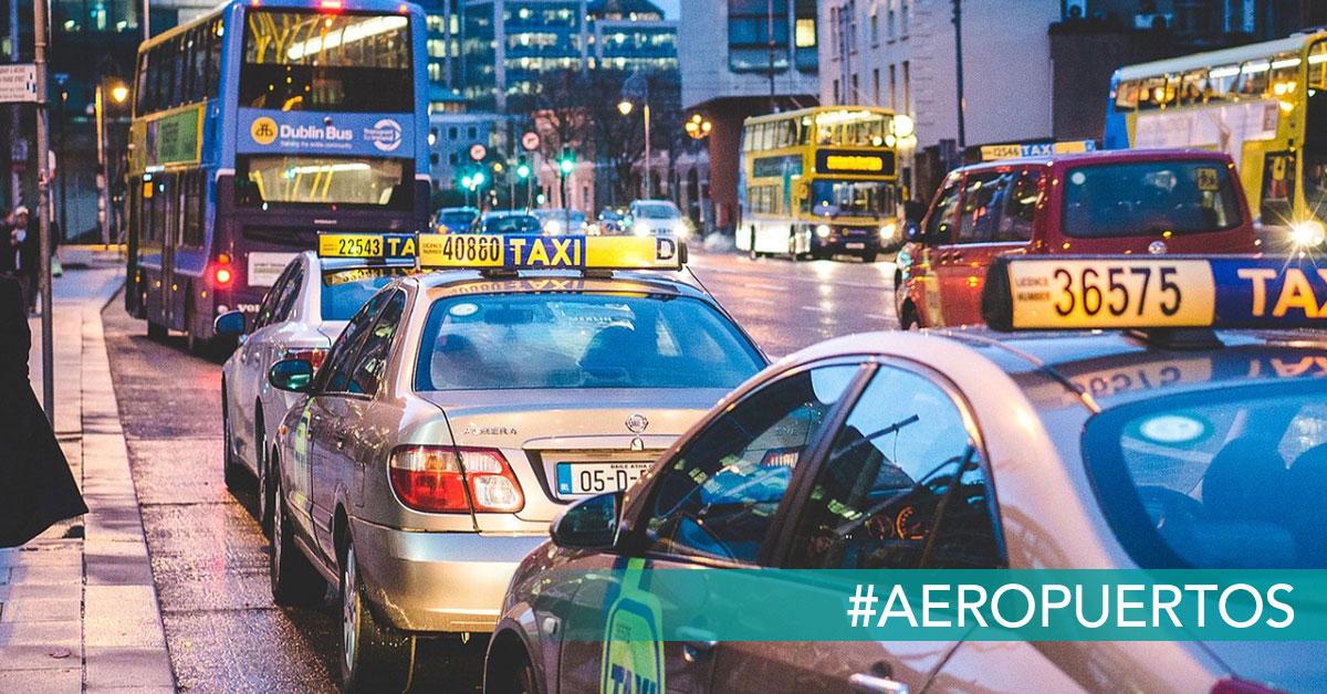 llegar del Aeropuerto de Dublin al centro de Dublin reclamador