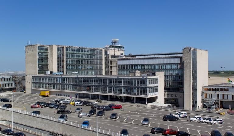 Huelga y cierre del espacio aéreo en Bélgica