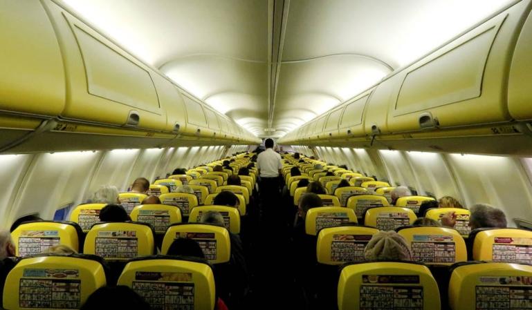 Nuevas condiciones en la aerolínea Ryanair