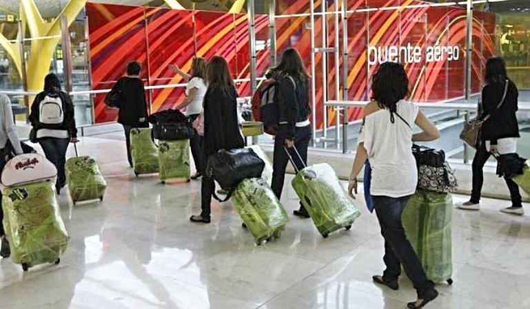 Plastificar la maleta tiene sus consecuencias