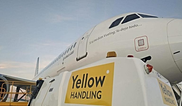 Yellow Handling: la nueva empresa de Vueling