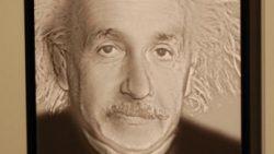 a picture of Albert Einstein