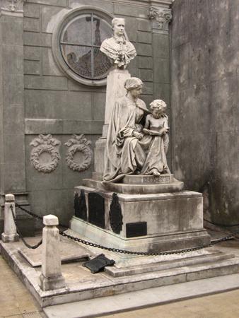 emma nicolay de caprile recoleta cemetery
