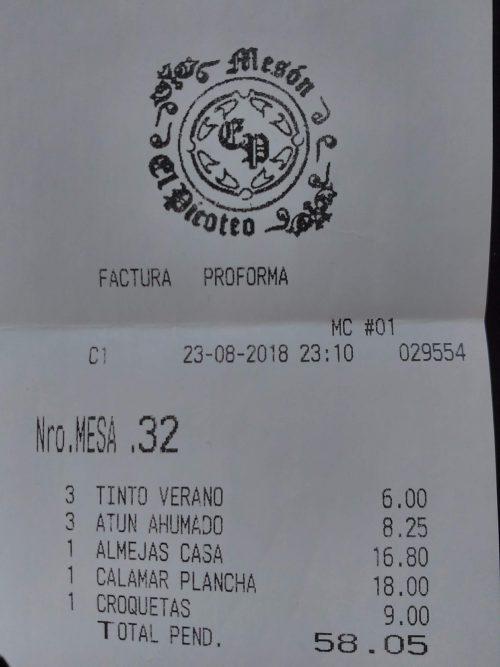 Mesón El Picoteo (Tarifa)