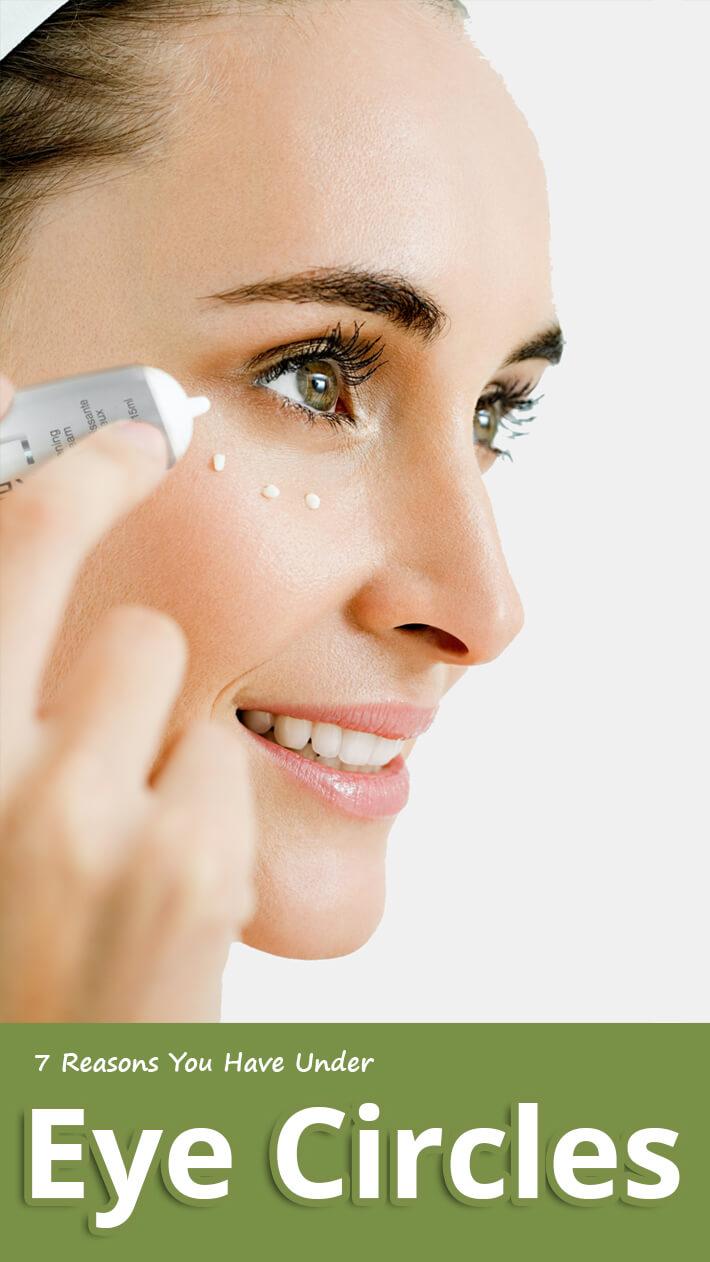7 Reasons You Have Under Eye Circles