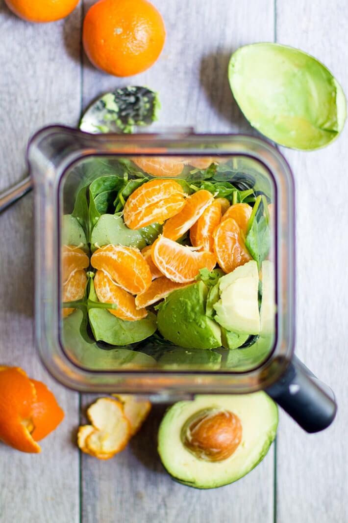 Clementine Avocado Smoothie