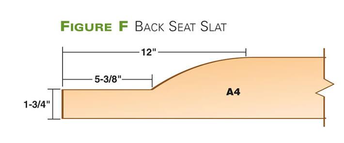 Back Seat Slat