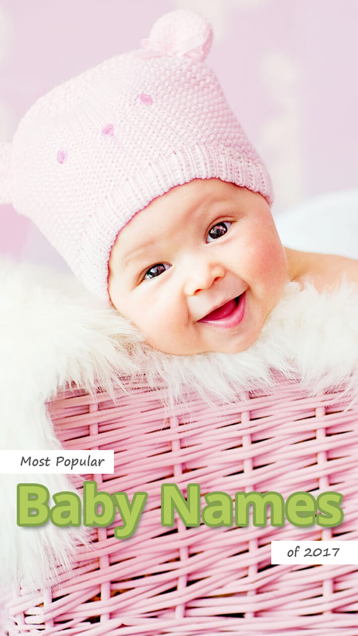 Most Popular Baby Names of 2017