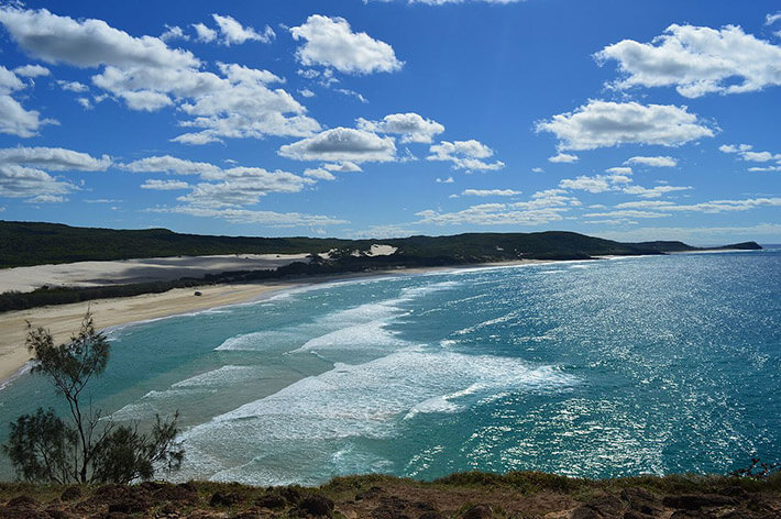 The 75 Mile Highway, Fraser Island