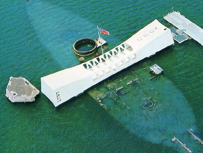 USS Arizona Memorial, Oahu