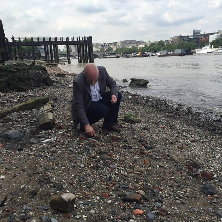 Mudlarking In London