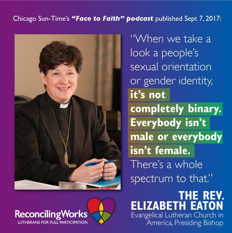 ELCA Presiding Bishop Eaton Powerfully Affirms LGBTQ Community