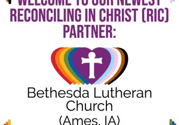 A New RIC Community: Bethesda Lutheran Church (Ames, IA)